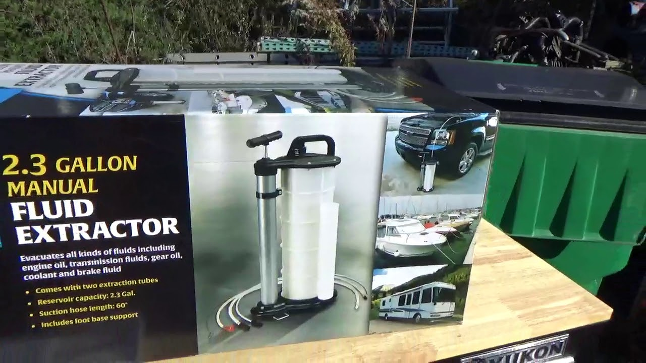 Holt Industries 2.3 gallon Fluid Extractor review, $73 ...