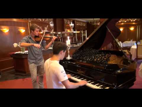 Ludovico Einaudi Medley (Piano and Violin Brother Cover)