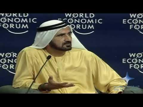 Mohammed bin Rashid takes questions at World Economic Forum