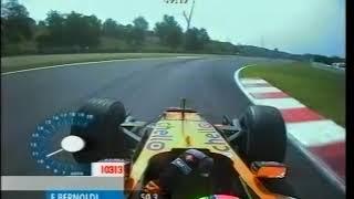 F1 Hungaroring 2001 - Enrique Bernoldi Onboard