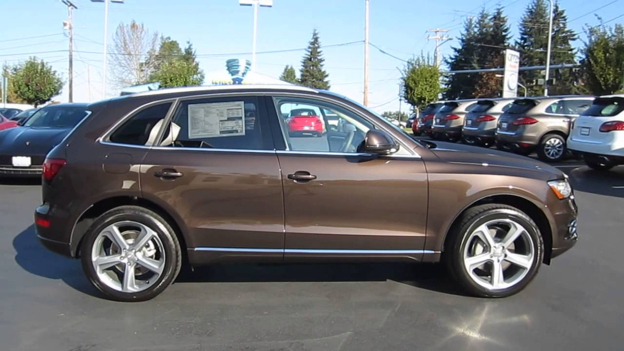 2014 Audi Q5 Teak Brown Stock 109587 Youtube