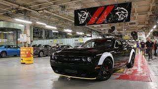 Last 2018 Dodge Challenger SRT Demon Rolls Off the Brampton Assembly Plant Line