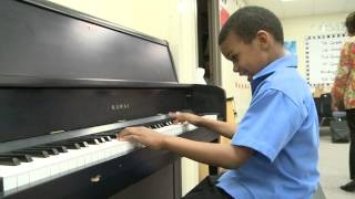 Six-Year-Old Autistic Boy Busts out Beethoven on Piano
