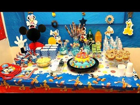 تنظيم و تزيين حفلة عيد ميلاد للأطفال Youtube