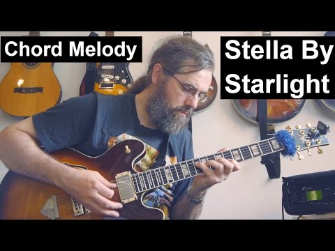 Stella Chord melody improvisation - AxeFX Ultra - Ibanez AS2630