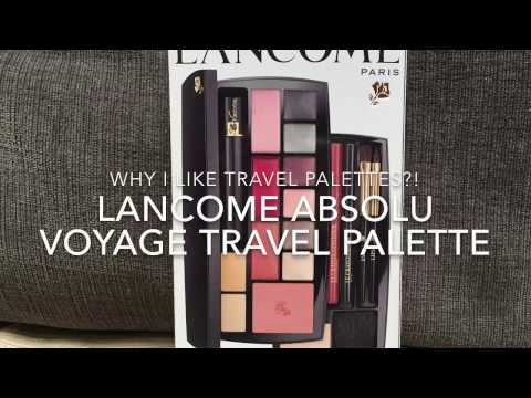 Lancome Absolu Voyage Travel Palette - Why I love travel palettes?!