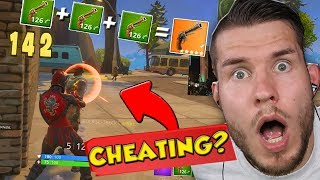18 KILLS nur mit LEGENDARY Revolver HACK REKORD! Fortnite: Battle Royale