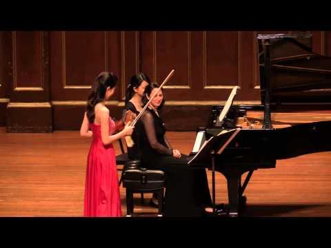 Beethoven Sonata for Piano and Violin No. 10. Yoojin Jang