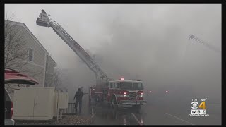 Hyannis Harbor Hotel Damaged By 5-Alarm Fire