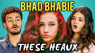 COLLEGE KIDS REACT TO BHAD BHABIE - THESE HEAUX (CASH ME OUSSIDE GIRL)