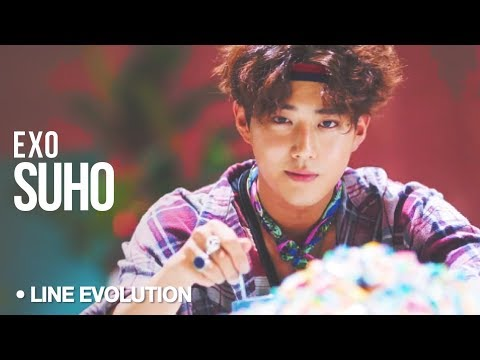 SUHO (EXO) - Line Evolution (2012 - 2017)