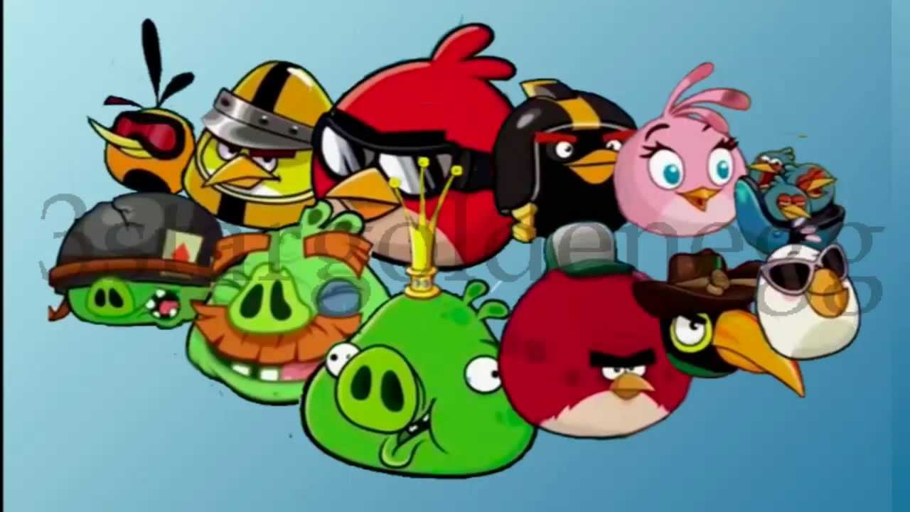 Angry Birds Go! Character Animation by 3stargoldenegg 2 ...
