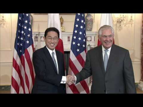 Secretary Tillerson Meets With Japan Foreign Minister Kishida