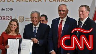 Así se firmó el T-MEC: EE.UU., Canadá y México reemplazan el TLCAN con acuerdo modificado