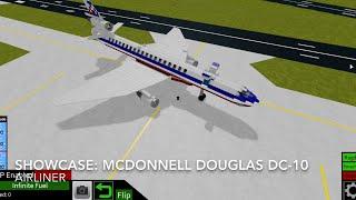 Roblox vitrine: Mcdonnell Douglas DC-10