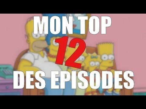 Mon Top 12 Des épisodes Des Simpson