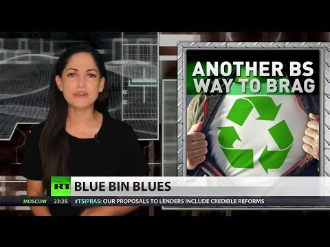 How Americans absolutely suck at recycling