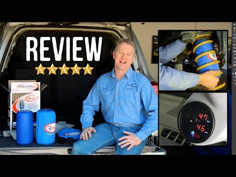 Customer Review: Airbag Man Suspension High Pressure Kit + On Board Air Controls