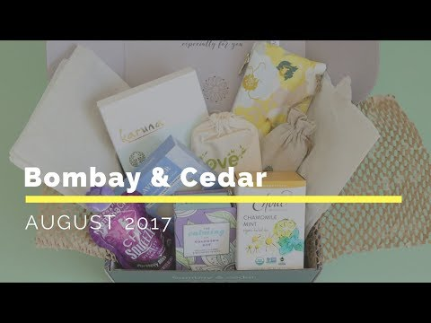 Bombay & Cedar Subscription Box Unboxing August 2017