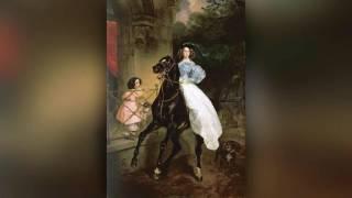 видео Картина Всадница Брюллов Карл Павлович. 1832 г.
