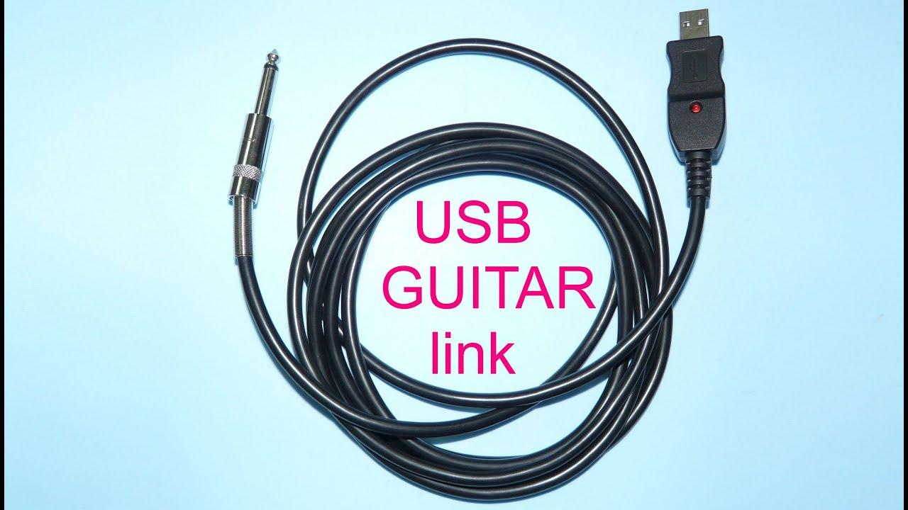 USB guitar link - YouTube