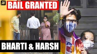 Comedian Bharti Singh, Husband Harsh Limbachiyaa Granted Bail By Mumbai Court