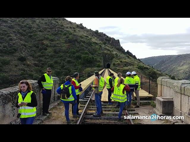 Rehabilitación de la línea férrea entre La Fregeneda y Barca d'Alba
