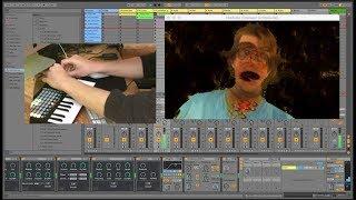 Spielen Sie mit dem eFX to erstellen Sie Ihre eigenen visuals und AV-Effekte