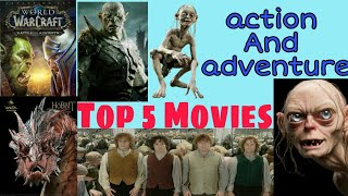 Best hollywood Adventure movies of all times - Top 5 (HD)