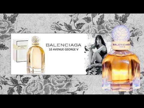 Моя парфюмерия/ Paris Balenciaga/ Фиалковый аромат