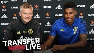 OFFICIAL: Rashford Signs! | Deal Worth £300K?! | Man Utd Transfer News