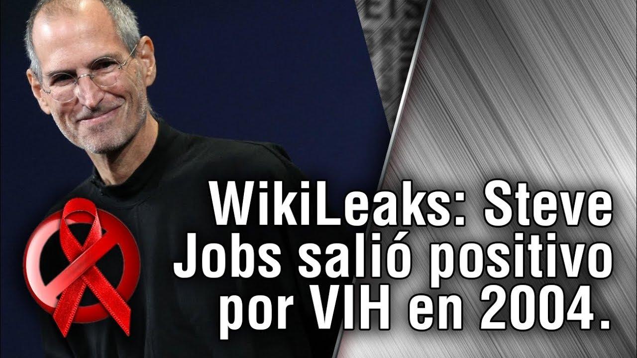 b1e78983c4a WikiLeaks: Steve Jobs salió positivo por VIH en 2004. - YouTube