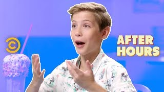 Jacob Tremblay Is Hiding Something - After Hours with Josh Horowitz