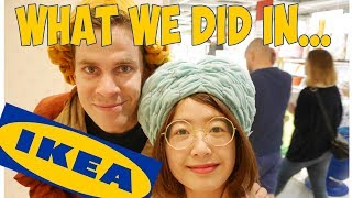 My life in Sweden #5 - Jonas & Charlie What we did in IKEA!