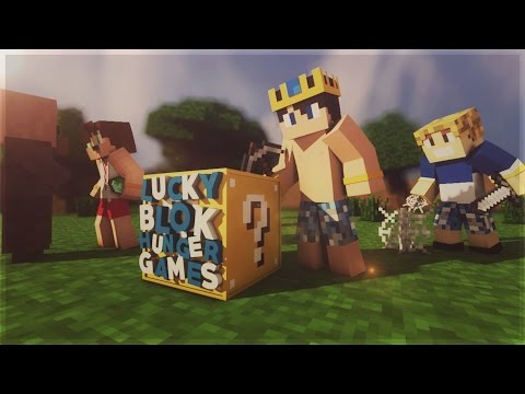 BURAK OYUNDA KENDİNİ FEDA ETTİ | Minecraft | Şans Bloklu Hunger Games | Bölüm -1 | Ft.Burak Oyunda