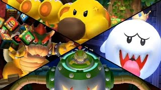 Mario Party 9 - All Boss Battle Minigames