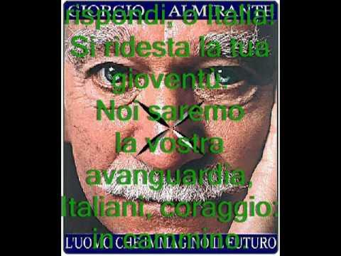 Almirante - Il canto degli Italiani