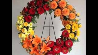 Red Carnation Wreath | Collection Of Pictures Of Flowers