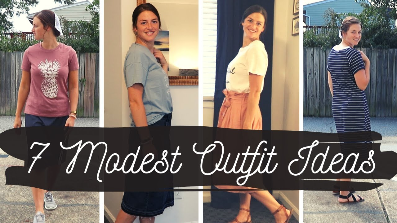 What I Did And Wore In Virginia Beach With No Kids Modest Mennonite Outfit Ideas Youtube