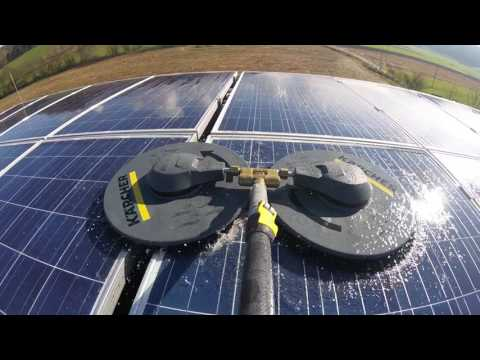 Solar Panel Cleaning (GoPro)