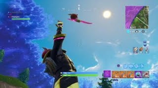 Flojangles - Fortnite - Louange à la tomate Glitch - Axe Through Head