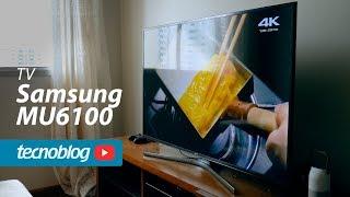TV 4K Samsung MU6100 - Review Tecnoblog