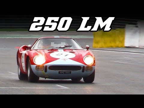 2x Ferrari 250 LM at  Spa Classic 2017 - Nice V12 sounds