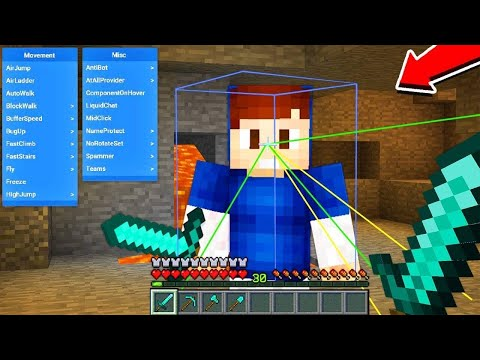 ผมแกล้งใช้ Hack ในการ PVP กับยูทูปเบอร์มายคราฟ!! ฮาจัด 555 - Minecraft Hack