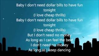 Download Sia - Cheap Thrills ( Lyrics ) Mp3 and Videos