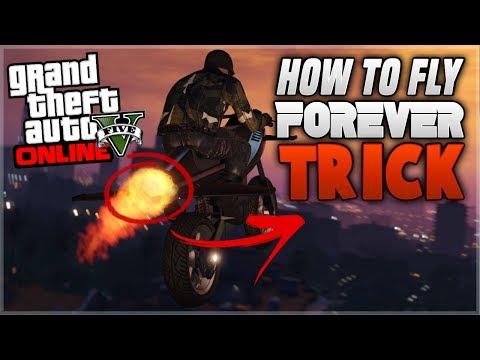 GTA 5 Online - HOW TO FLY FOREVER ON THE OPPRESSOR! (GTA 5 Tips & Tricks)