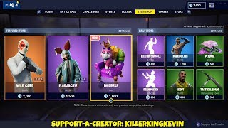 NEW CAT PET + ANIMAL SKINS: Fortnite Item Shop