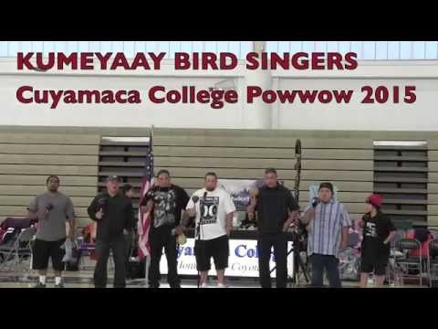 KUMEYAAY BIRD at Cuyamaca College 2015 - Start