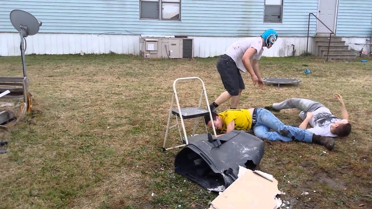 wwe backyard edition youtube