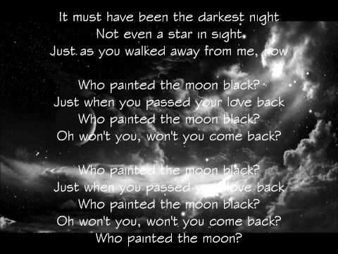 Hayley Westenra - Who Painted The Moon Black? (Lyric Video)